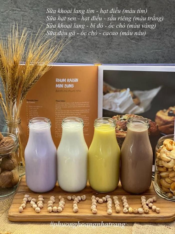 vfbMẹ đảm chia sẻ công thức làm sữa hạt vừa bổ dưỡng lại an toàn cho bé